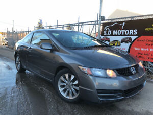 2010 HONDA CIVIC EX-L HAS 146485 KMS LEATHER LOADED ALLOY WHEELS