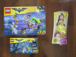 NEW LEGO AND DISNEY PRINCESS DOLL