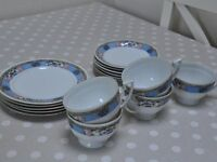 Vintage tea set from Czechoslovakia circa 1900-1930