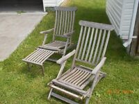 antique lawn chairs