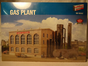 Walthers Cornerstone HO scale #933-2905 Gas Plant, still sealed