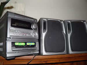Radio with tape, CD player Brand Name Aiwa- good cond
