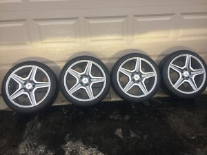 Mercedes AMG rims ,winter tires London Ontario image 1