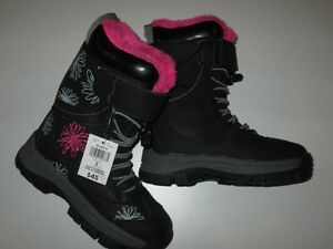 Girls Weather Spritis Winter Boots Size 2 and size 3