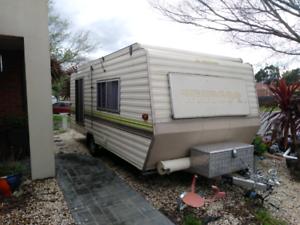 Windsor windcheater caravan