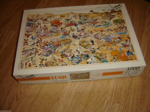 DISET PUZZLE POSTER RALLY 1000 PIECE JIGSAW PUZZLE TAXES INCLUSE