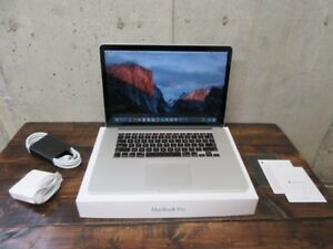 GET IT NOW! Fast Macbook Pro Retina 16GB 512GB SSD MINT
