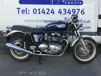 Triumph Thruxton 900 / Cafe Racer / Nationwide Delivery / Finance