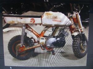 wanted- older 50-70 cc motorcycle