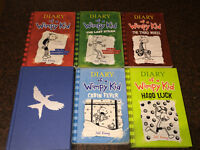 Diary of a Wimpy Kid Books + Mocking Jay