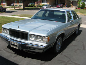 1989 Mercury Grand Marquis LS Sedan