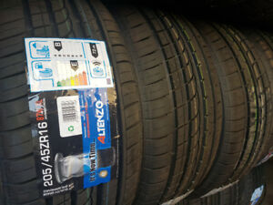 $65 – 205/45/16 NEW Performance Tires free  installation