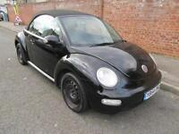 2004 VOLKSWAGEN BEETLE 1.6 CONVERTIBLE MANUAL PETROL