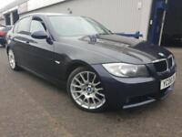 BMW 318 2.0TD 2008MY d Edition M Sport Diesel 67k History Sat Nav Leather