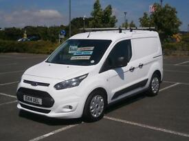2014 FORD TRANSIT CONNECT TREND 1.6 TDCi 95PS 220 L1 PANEL VAN WHITE LOW MILEAGE
