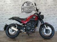 Benelli Leoncino Trail 500cc retro trail Motorcycle