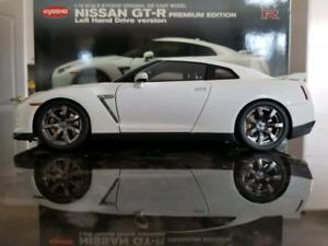 1:18 Diecast Kyosho Nissan GT-R R35 Premium Edition
