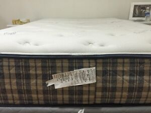 Queen size Mattress Box spring and Frame