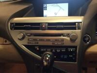 2011 Lexus RX 3.5 Advance CVT 4x4 5dr (Sunroof) PETROL/ELECTRIC black CVT