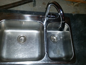 Kitchen sink and tap (price reduced)