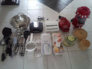 Small Appliances, Kitchen Items