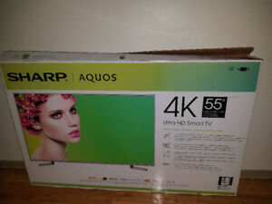 55' inches 4K Ultra HD Aquos Smart Sharp Tv