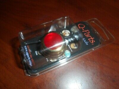 NEW - Q-Parts Ringo Knob - RED PEARL ON GOLD, KGR-0556