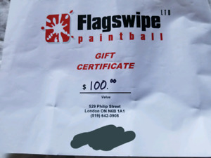 $100 Gift Card - Flagswipe Paintball