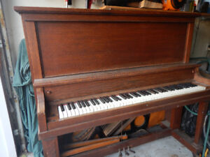 antique  piano from 1896
