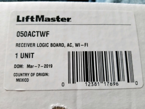 Liftmaster/Chamberlain 050ACTWF garage door opener logic board