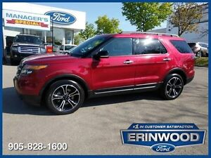 2013 Ford Explorer Limited3.5L ECOBOOST/LTHR/PROOF/NAV/REM START
