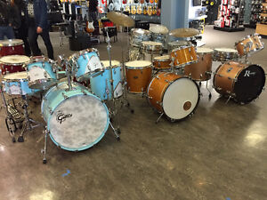 Vintage, Cool, & Collectable Drum Show Long & McQuade May 27