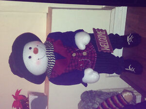 Talking Christmas Frosty the Snowman