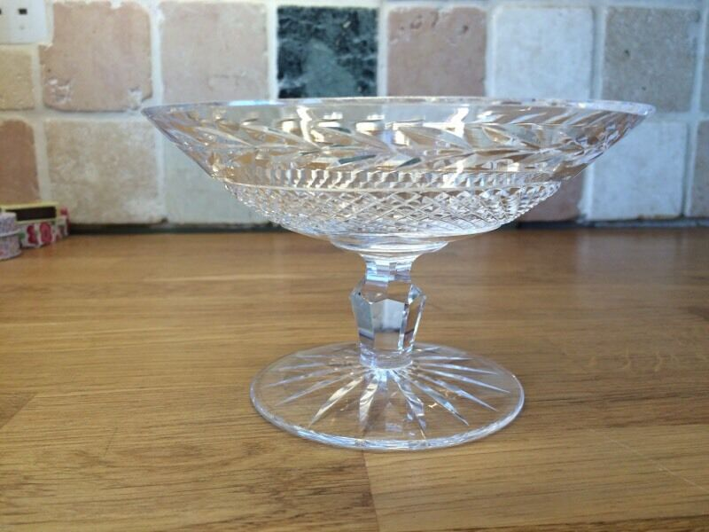 Waterford crystal Tazza/comport/pedestal bowl