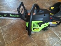 Brand new chainsaw! Never used!