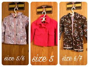 Girls spring or fall  jackets