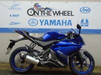 2013 13 YAMAHA YZF R125 BLUE