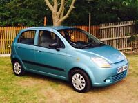 CHEVROLET MATIZ ONE OWNER VERY LOW MILES FULL HISTORY 1495