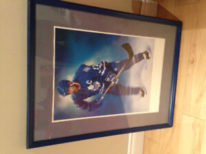 Framed Toronto Maple Leafs picture
