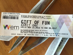 Tickets for Water Park of West Edmonton Mall