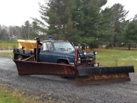 Plow Truck with Wing & Sander
