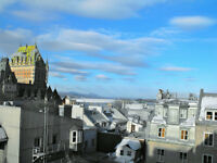 Old Quebec penthouse duplex: affordable luxury