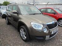 Skoda Yeti 2.0TDI CR ( 110ps ) 4x4 SE