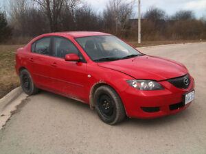 2006 Mazda Mazda3 certified and e tested Sedan