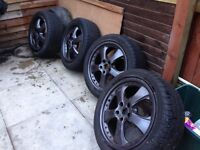 Alloy wheels to fit x type jag or ford mondeo