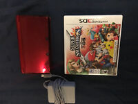 3DS with smash bros game (reduced)