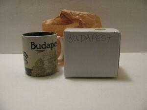 Budapest Hungary City Starbuck Global Icon Collectors Series Mug