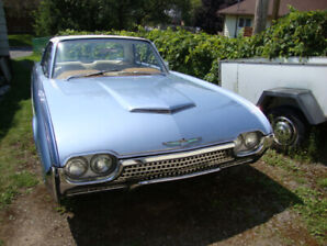 ford t-bird 62