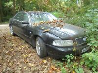Audi A8 2.8 auto quattro Sport non runner engine problems spares