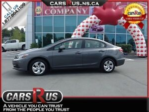 2013 Honda Civic FINANCE AND GET FREE WINTER TIRES!